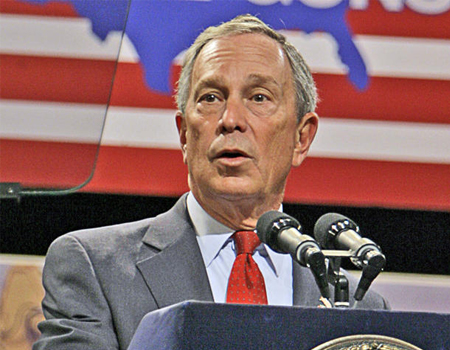 ... Mayor Michael Bloomberg has landed a role in the Sex and the City movie.