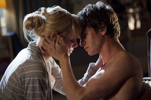 Andrew Garfield Emma Stone The Amazing Spider-Man