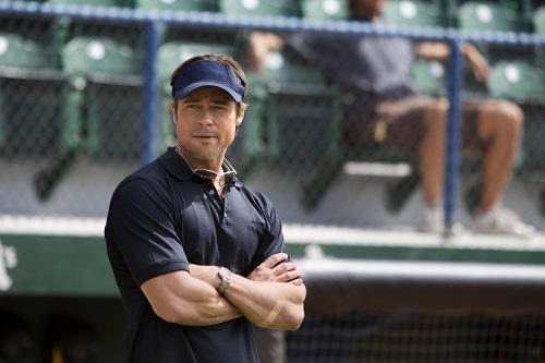 Brad Pitt is Billy Beane in Moneyball
