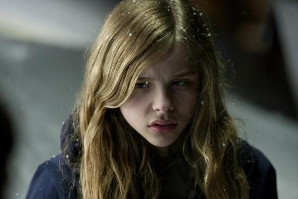 Moretz plays the title teenager, who discovers she has telekinetic powers ...