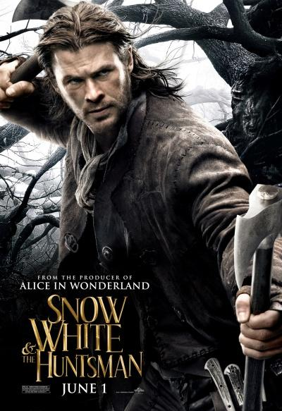 Chris Hemsworth Snow White and the Huntsman Poster