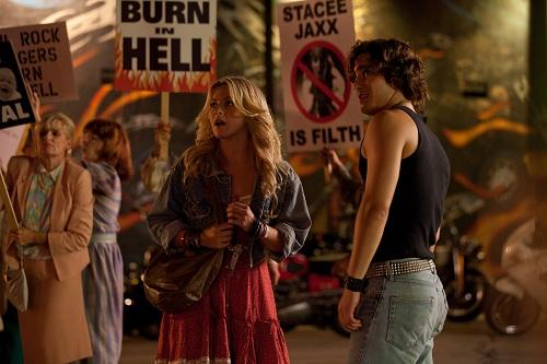 Diego Boneta and Julianne Hough in Rock of Ages