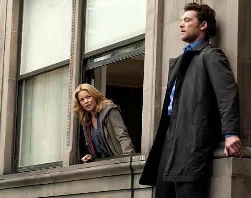 Elizabeth Banks and Sam Worthington in Man on a Ledge