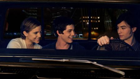 emma watson logan lerman and ezra miller the perks of being a wa 450x253 The Perks of Being a Wallflower Gets 5 New Stills