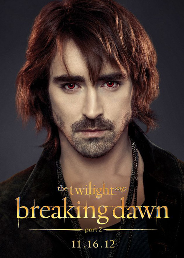 Garrett Breaking Dawn Part 2 Character Poster
