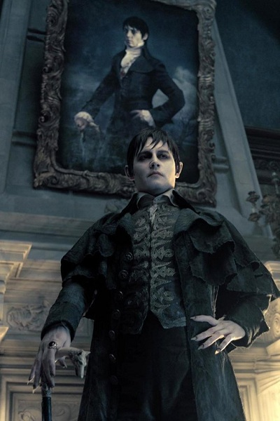 Johnny Depp Stars is Barnabas Collins in Dark Shadows