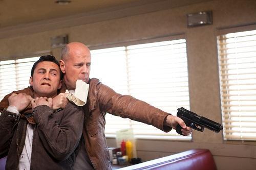 Joseph Gordon Levitt Bruce Willis Looper