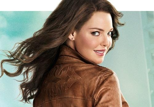 Katherine Heigl on the One for the Money Poster
