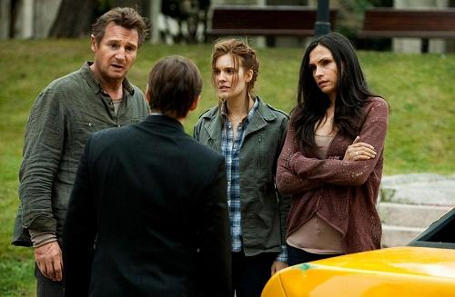 liam neeson famke janssen and maggie grace in taken 2 500x327 Taken 2 Review: Double the Pleasure?