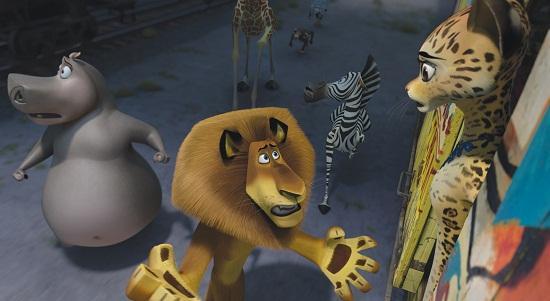 Madagascar 3: Ben Stiller and Chris Rock
