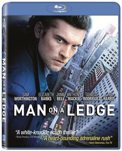 Man on a Ledge Blu-Ray
