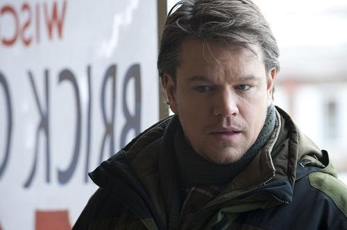 Matt Damon stars in Contagion