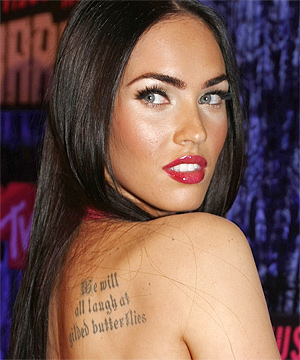 pics of megan fox nude