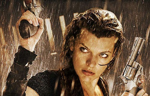 resident evil retribut... Milla Jovovich Resident Evil Movie