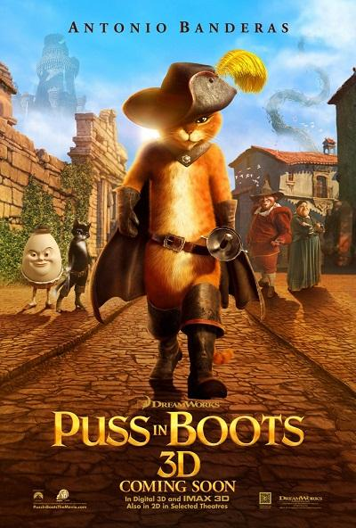 New Puss in Boots Poster