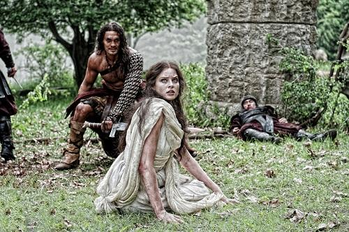 Rachel Nichols in Conan the Barbarian