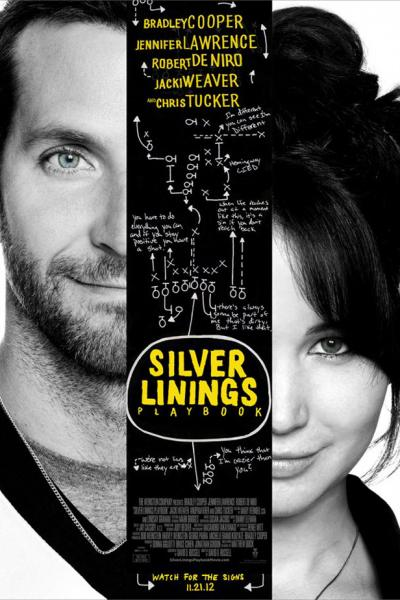 silver linings playbook movie poster 400x600 2012 TORONTO INTERNATIONAL FILM FESTIVAL AWARD WINNERS