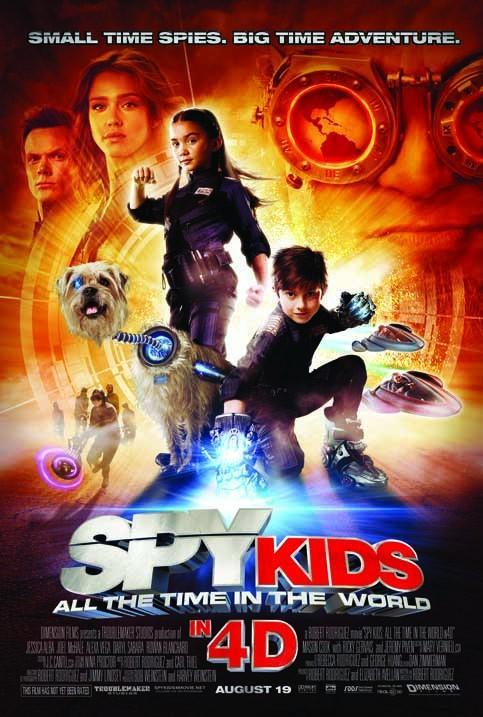 Phim Điệp Viên Nhí 4-Thế Giới 4d Spy Kids 4