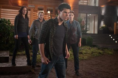 Taylor Lautner is Jacob in The Twilight Saga: Breaking Dawn Part 1