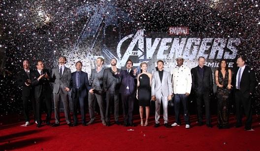The Avengers Premiere
