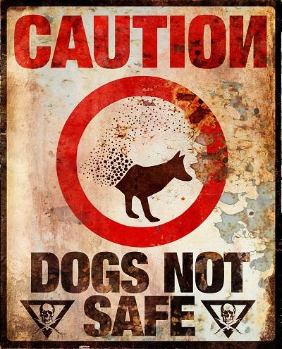 The Darkest Hour Warning Sign: Dogs Not Safe