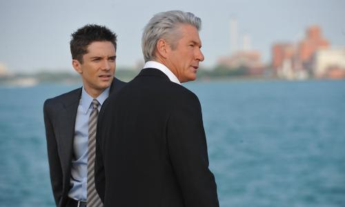 Topher Grace and Richard Gere in The Double