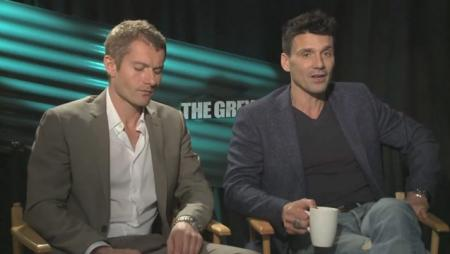 Frank Grillo and James Badge Dale Exclusive Interview