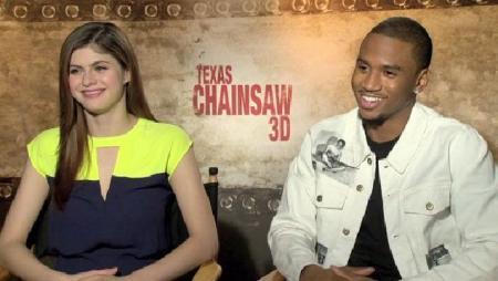 Trey Songz and Alexandra Daddario Exclusive Interview